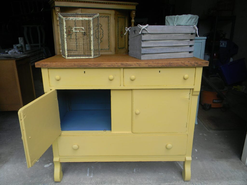 Farmhouse Chest in French Country Colors