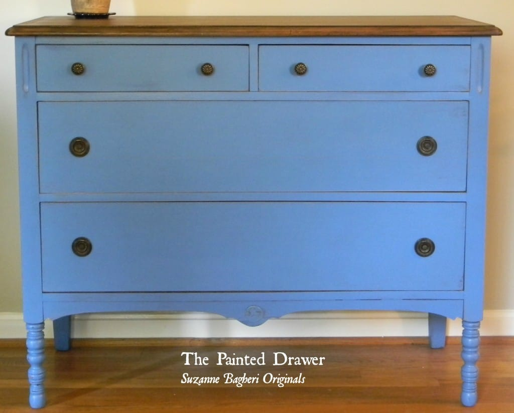 Farmhouse Blue Dresser
