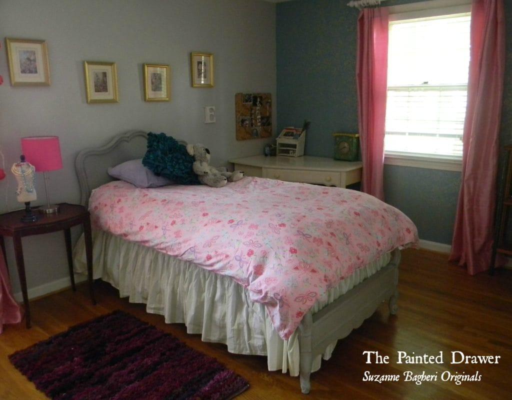 Ella's Room and a Gold Stencil