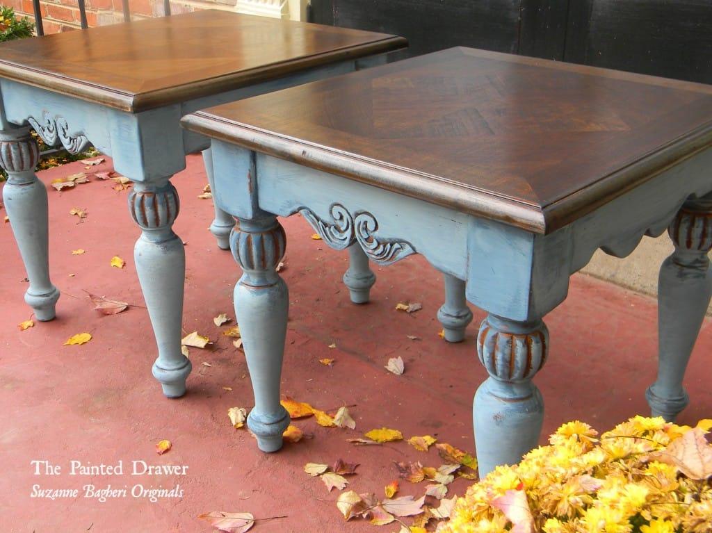 Blue Vintage Tables