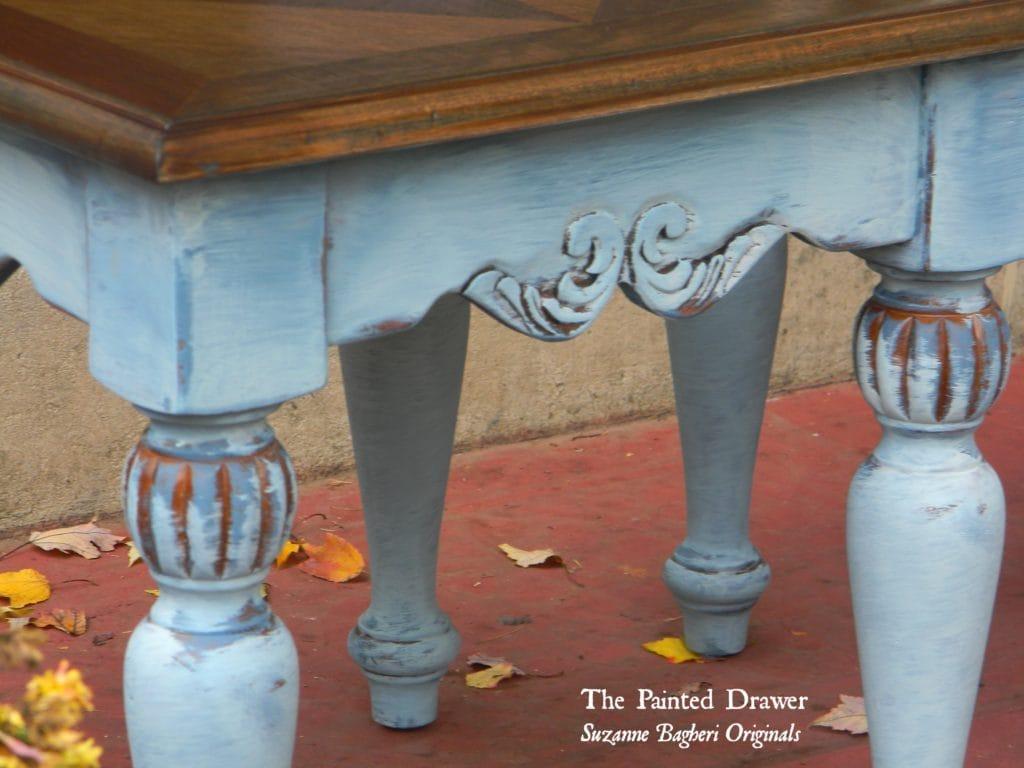 Vintage Blue Detail