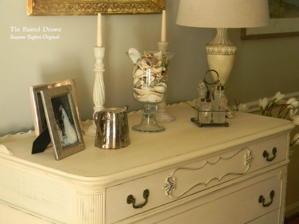 Lace Panel Dresser