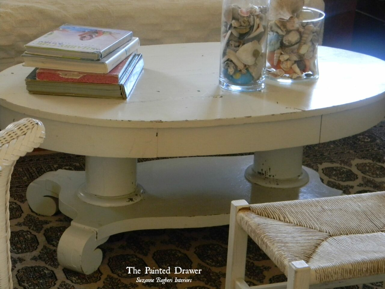 Favorite Find Monday A Shabby Coffee Table