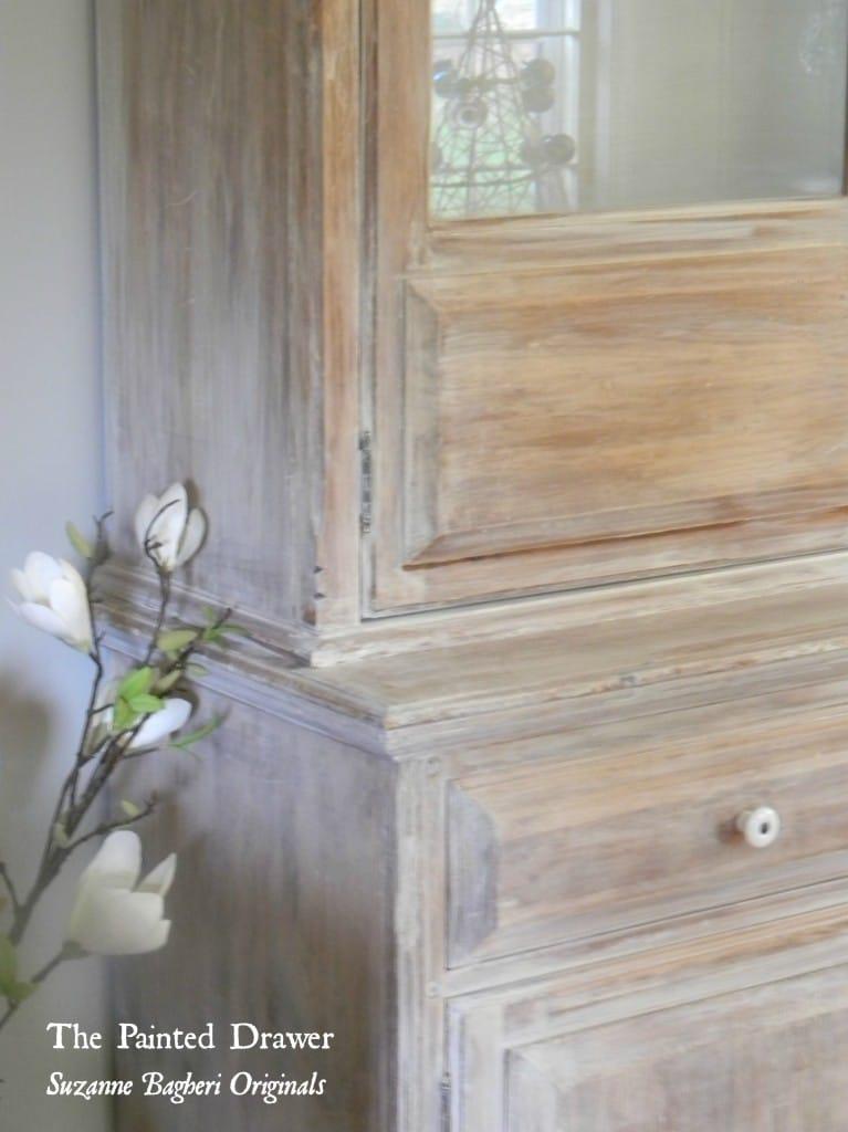 Whitewashed Farmhouse Cabinet