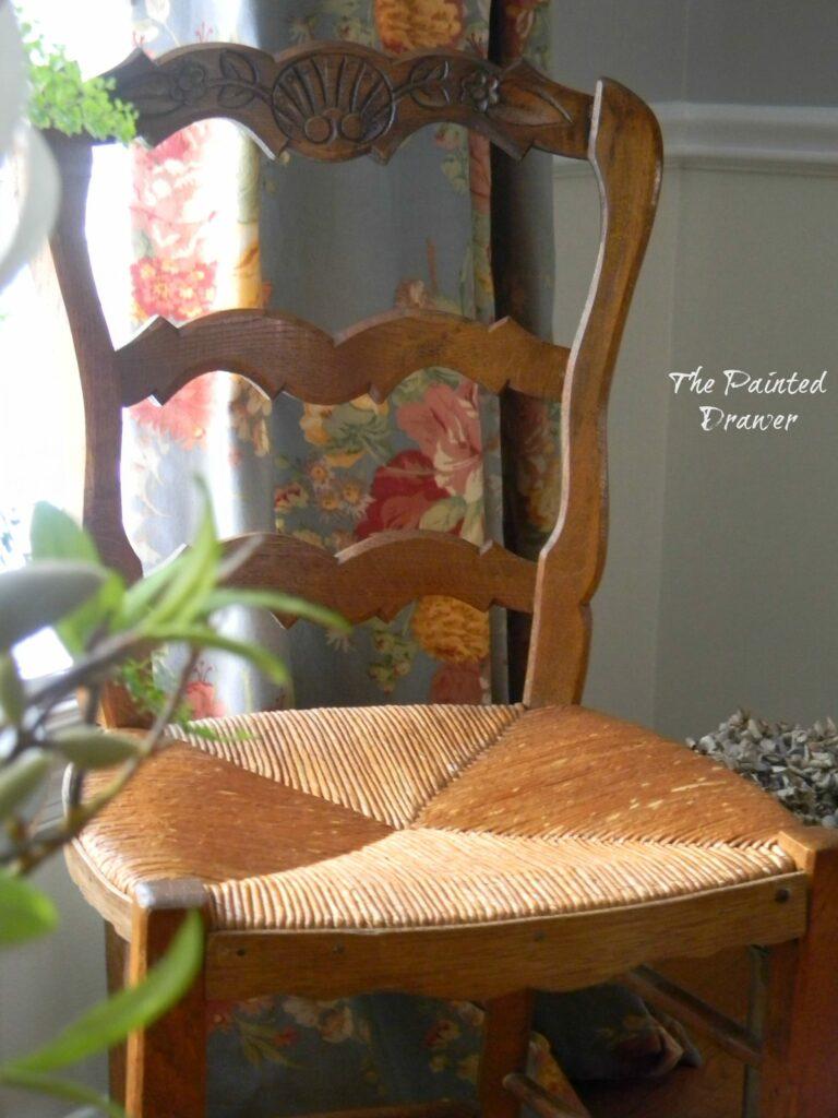 French Chair www.thepainteddrawer.com