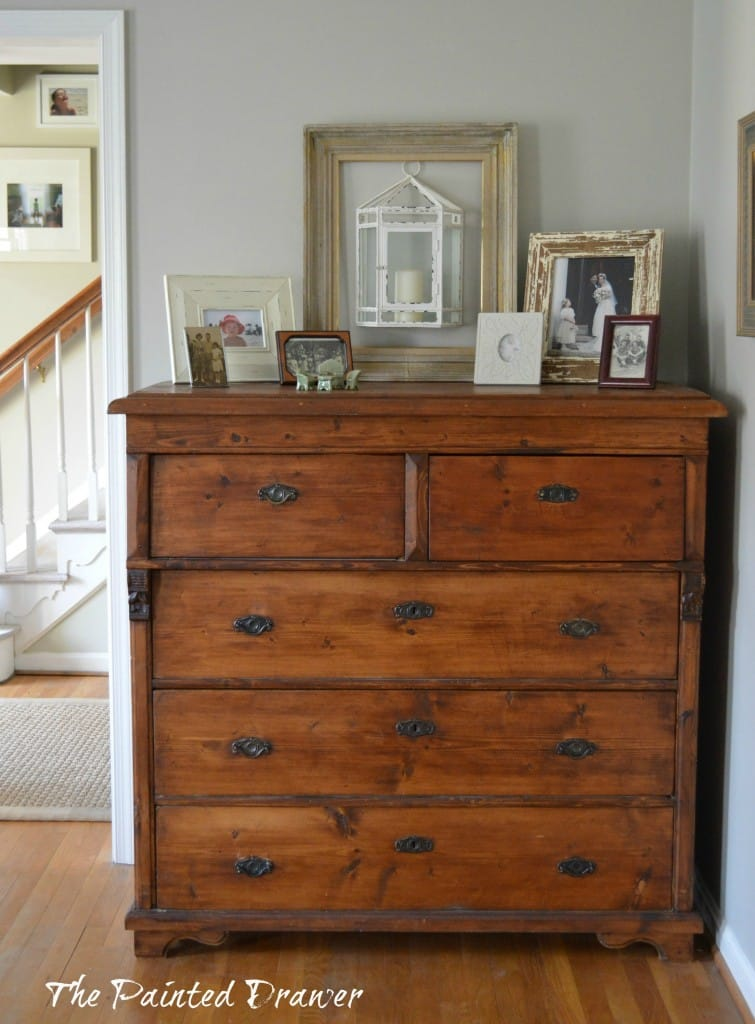 Antique Farmhouse Chest www.thepainteddrawer.com