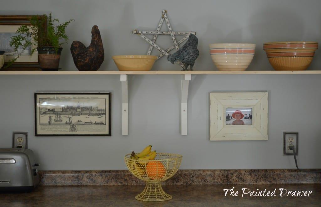 Ikea Shelves www.thepainteddrawer.com