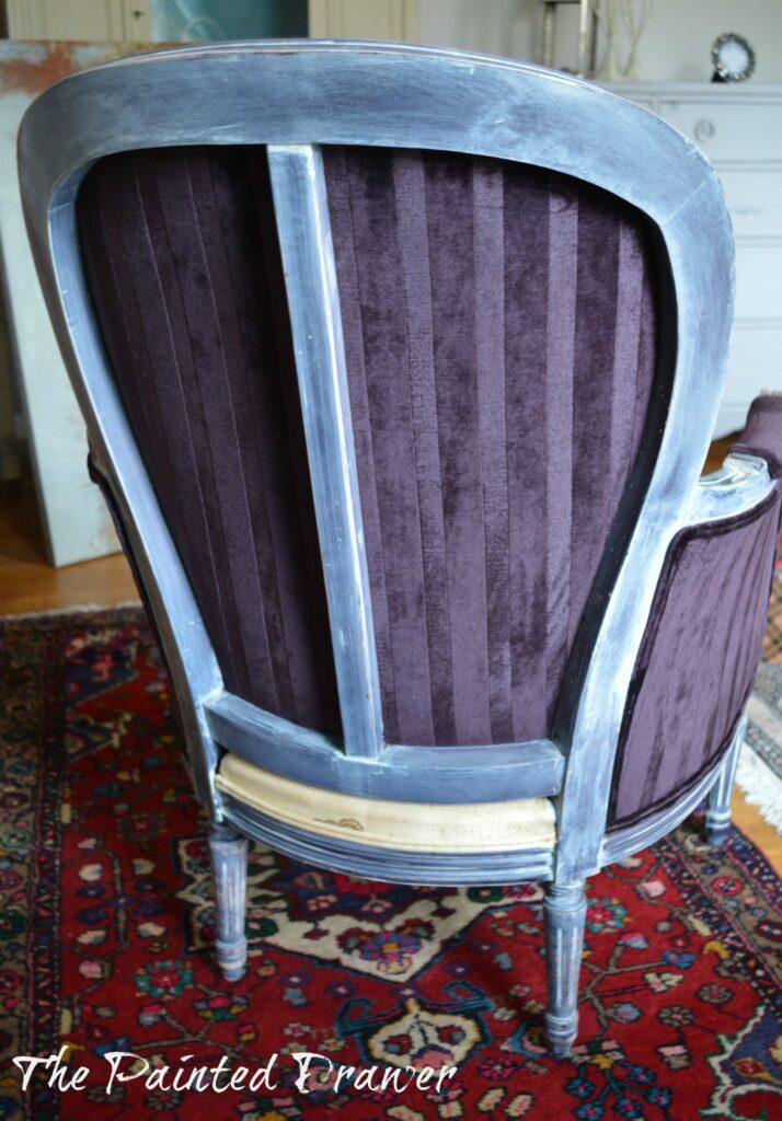 Vintage French Chair www.thepainteddrawer.com