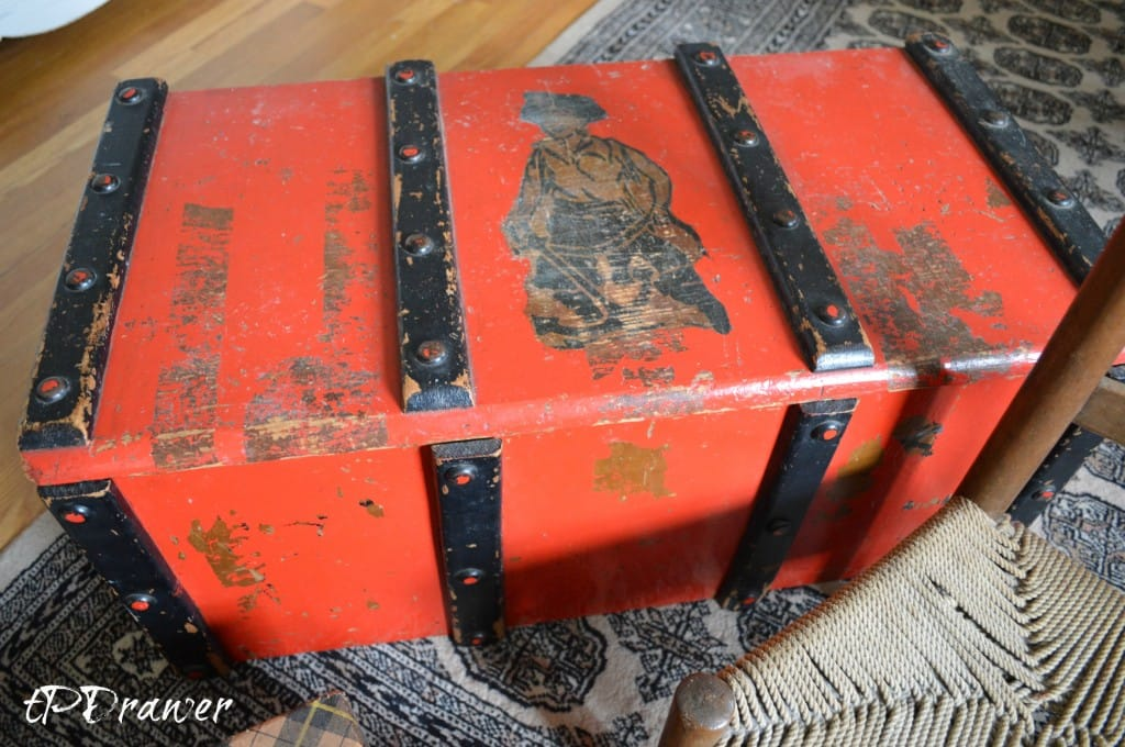 Vintage Asian Crate www.thepainteddrawer.com