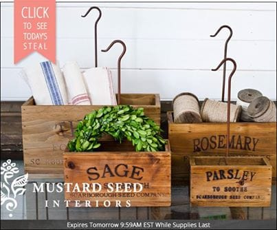 Vintage Crates and a Design Share