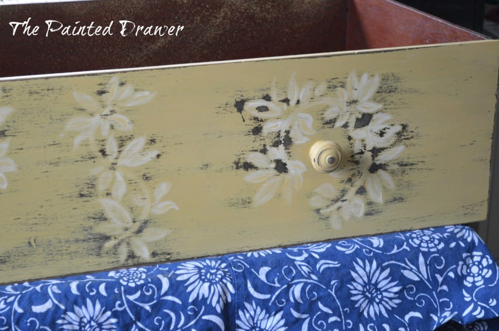Mustard Drawer www.thepainteddrawer.com