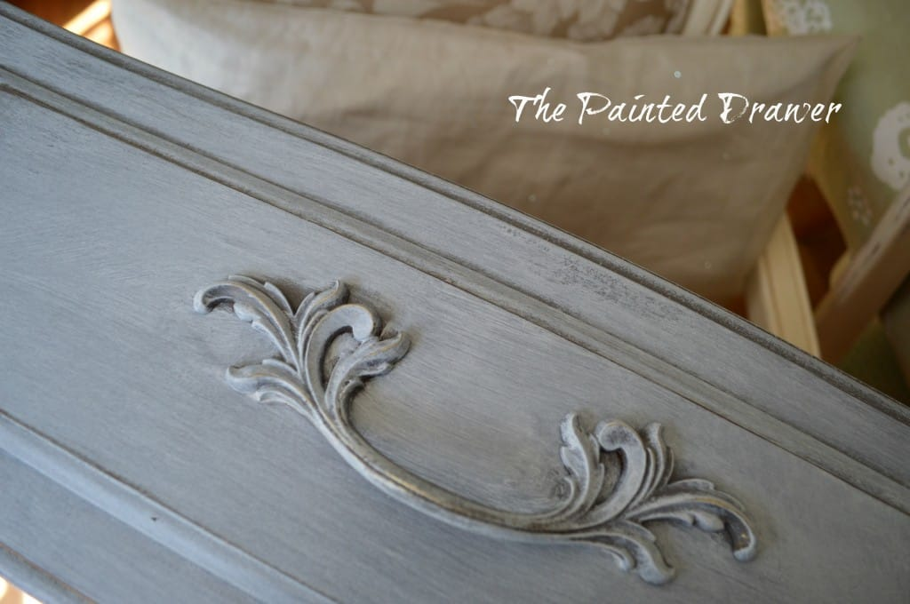 Winter White Glaze www.thepainteddrawer.com