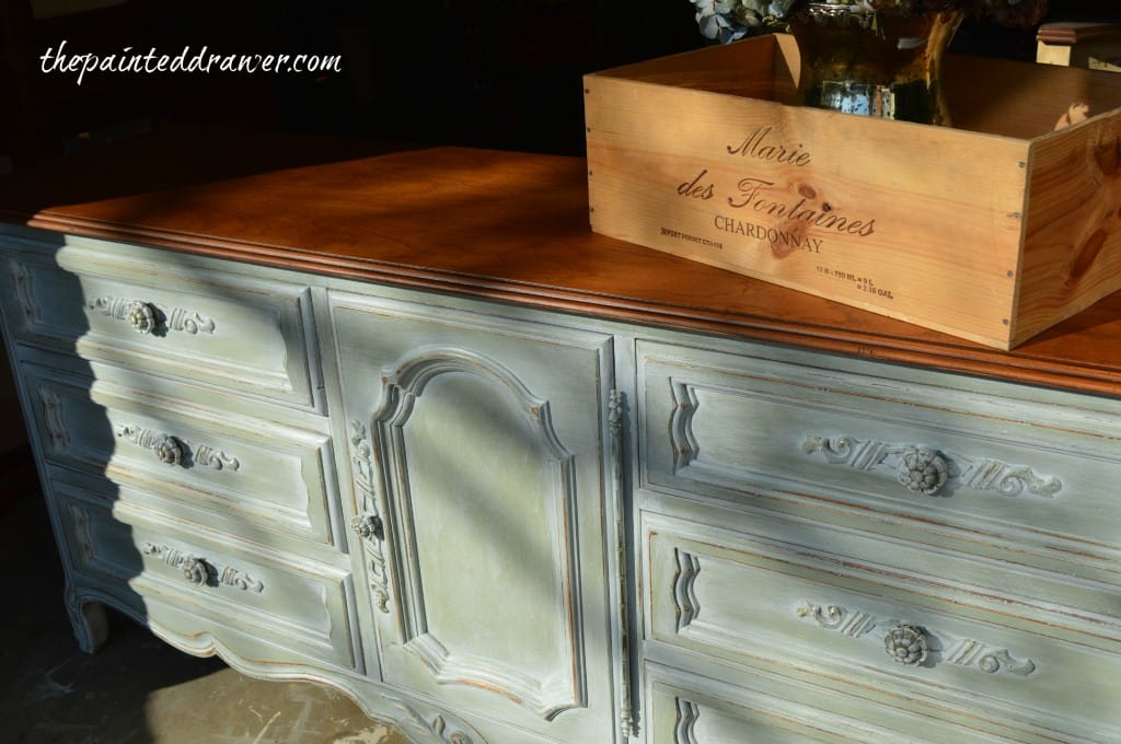 Layering with General Finishes Milk Paint – A French Dresser