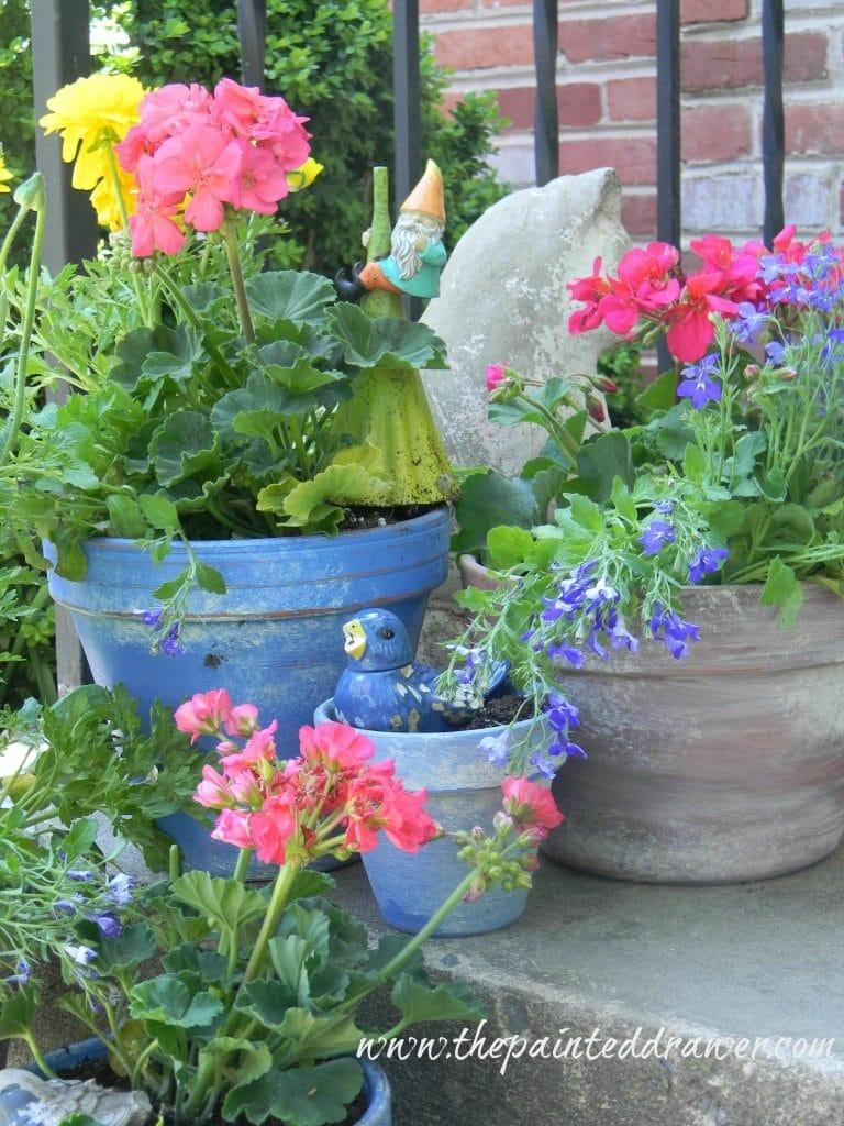 french flower pots diy
