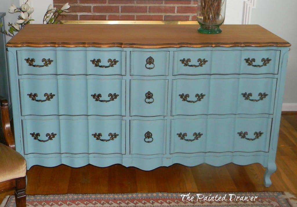 Provence Dresser www.thepainteddrawer.com