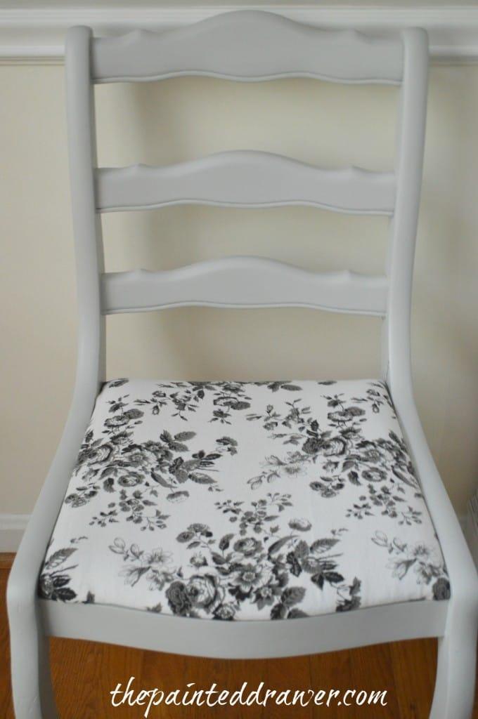 Vintage Chair www.thepainteddrawer.com