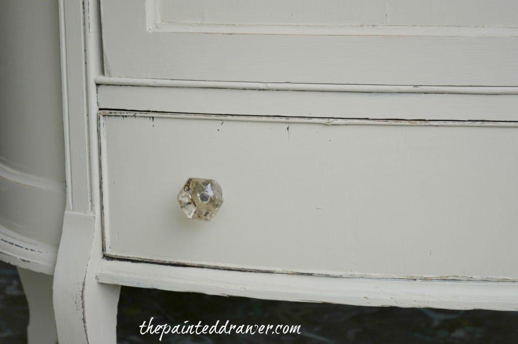 Cottage Cabinet www.thepainteddrawer.com