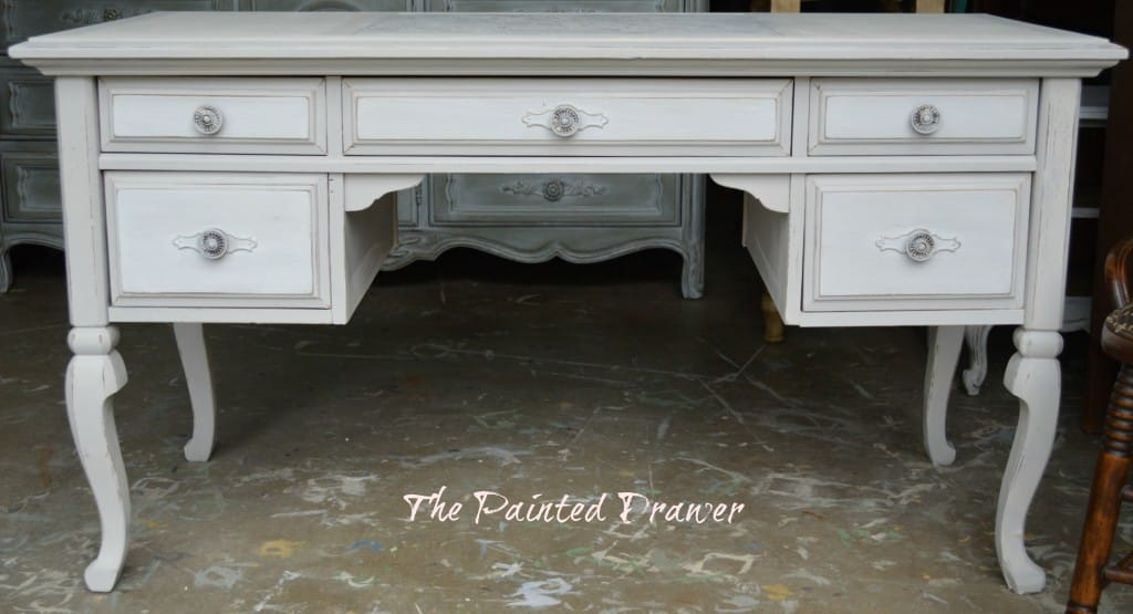 A Vintage Desk – It Takes a Village!