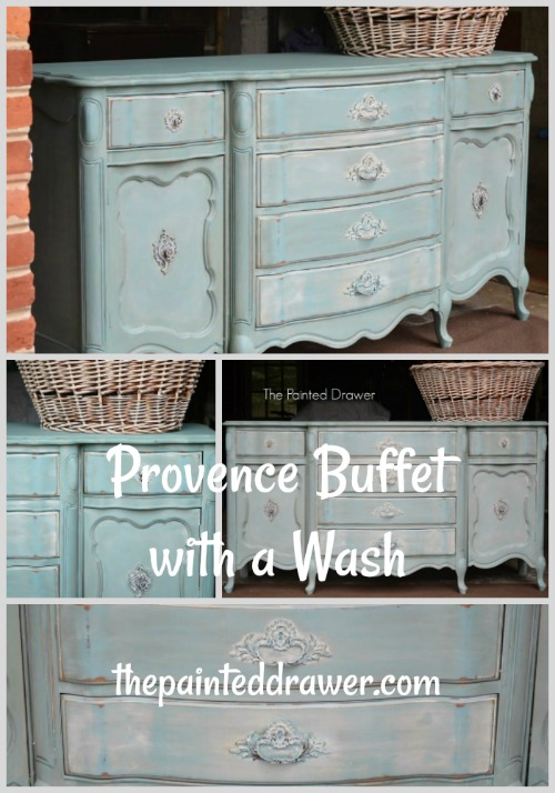 Provence Buffet with a Wash