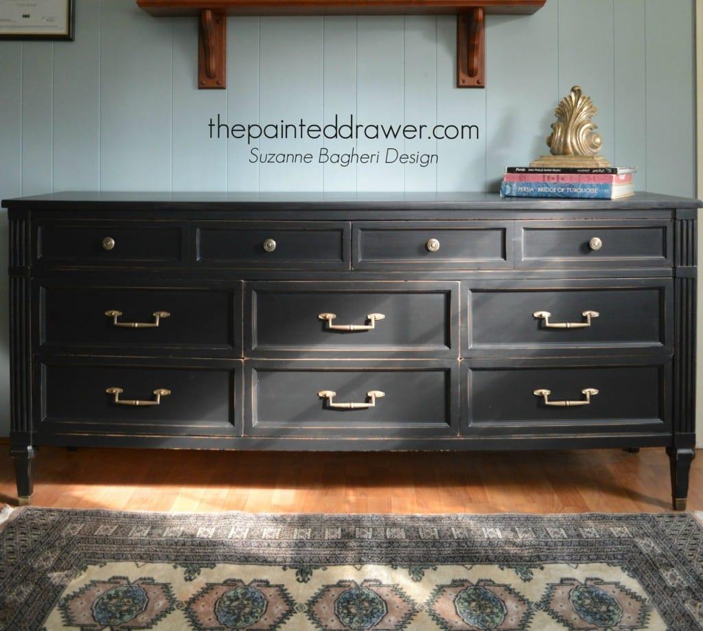 A Dresser Gone Glam