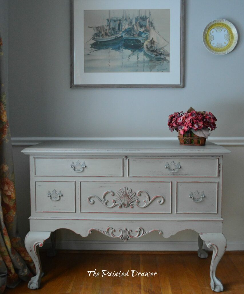 French Lane Cedar Chest www.thepainteddrawer.com
