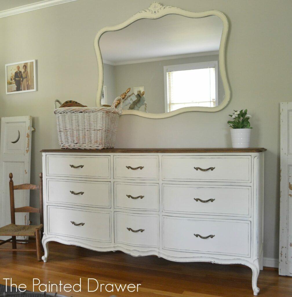 Vintage Drexel Dresser www.thepainteddrawer.com