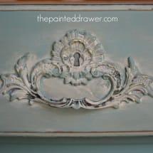 Annie Sloan Provence www.thepainteddrawer.com