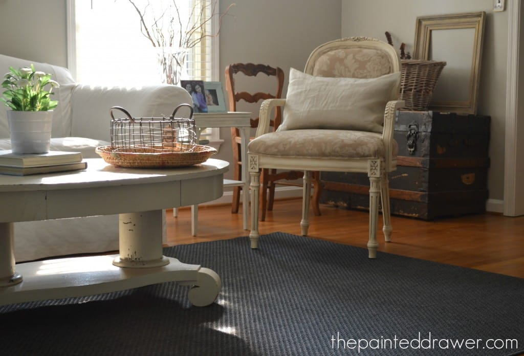 My New Rug and a Gate-Leg Table