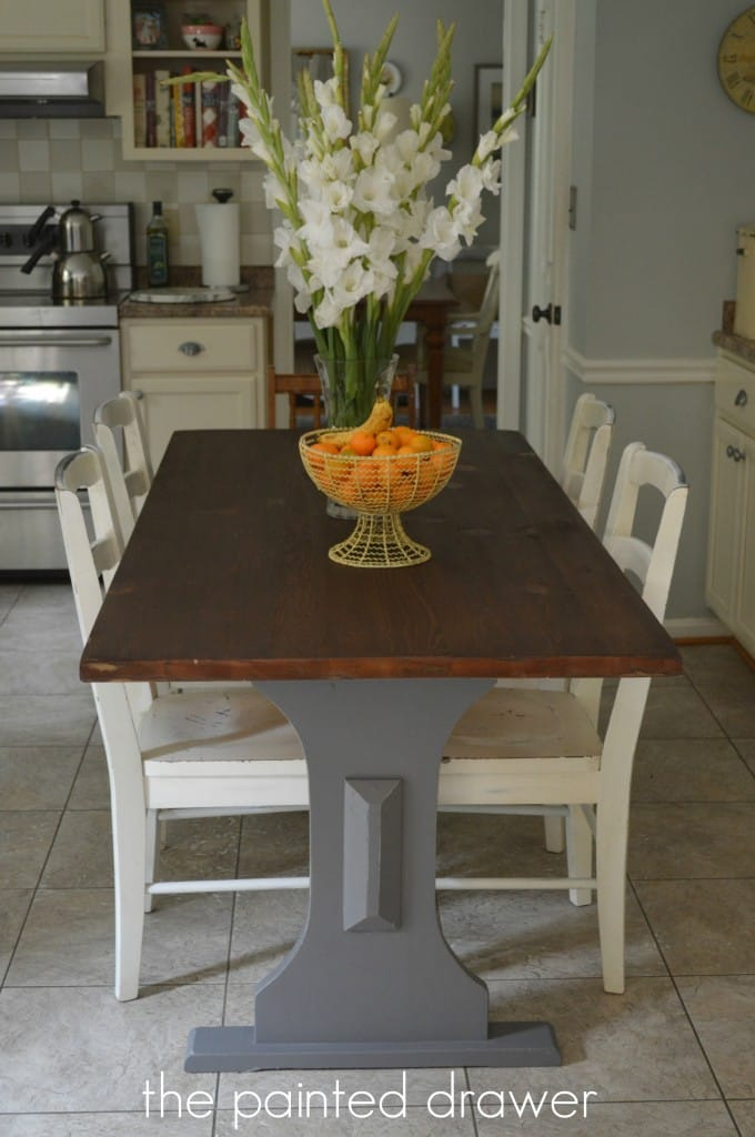 "A ""New"" Kitchen Farmhouse Table"
