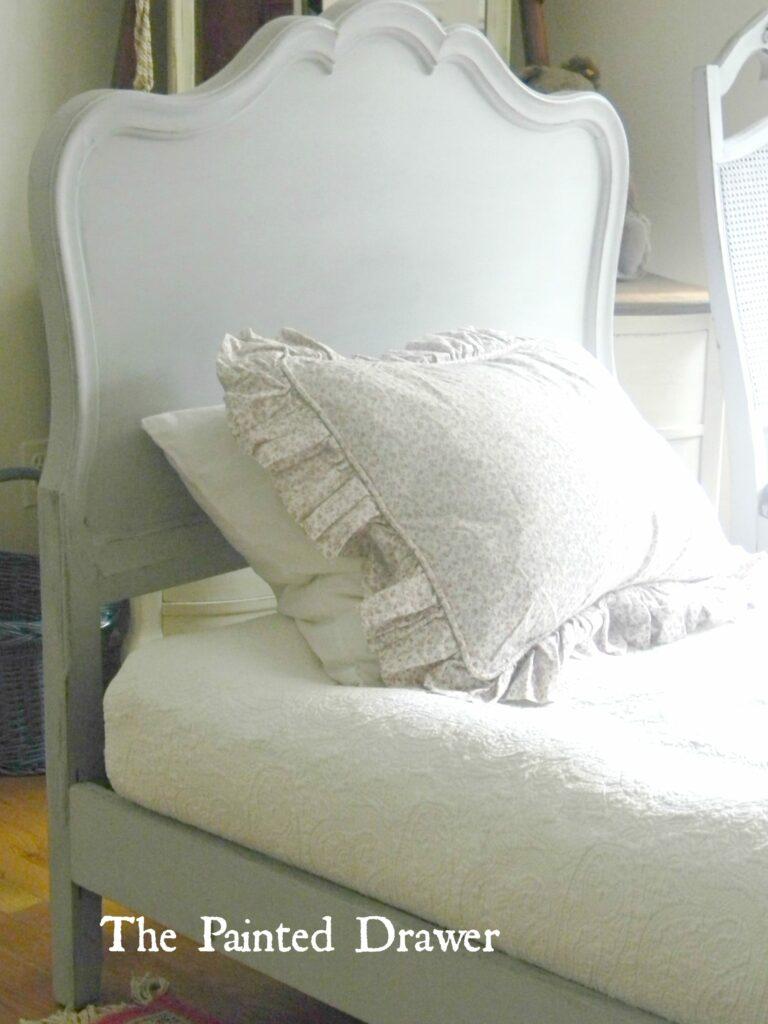 French Bed www.thepainteddrawer.com