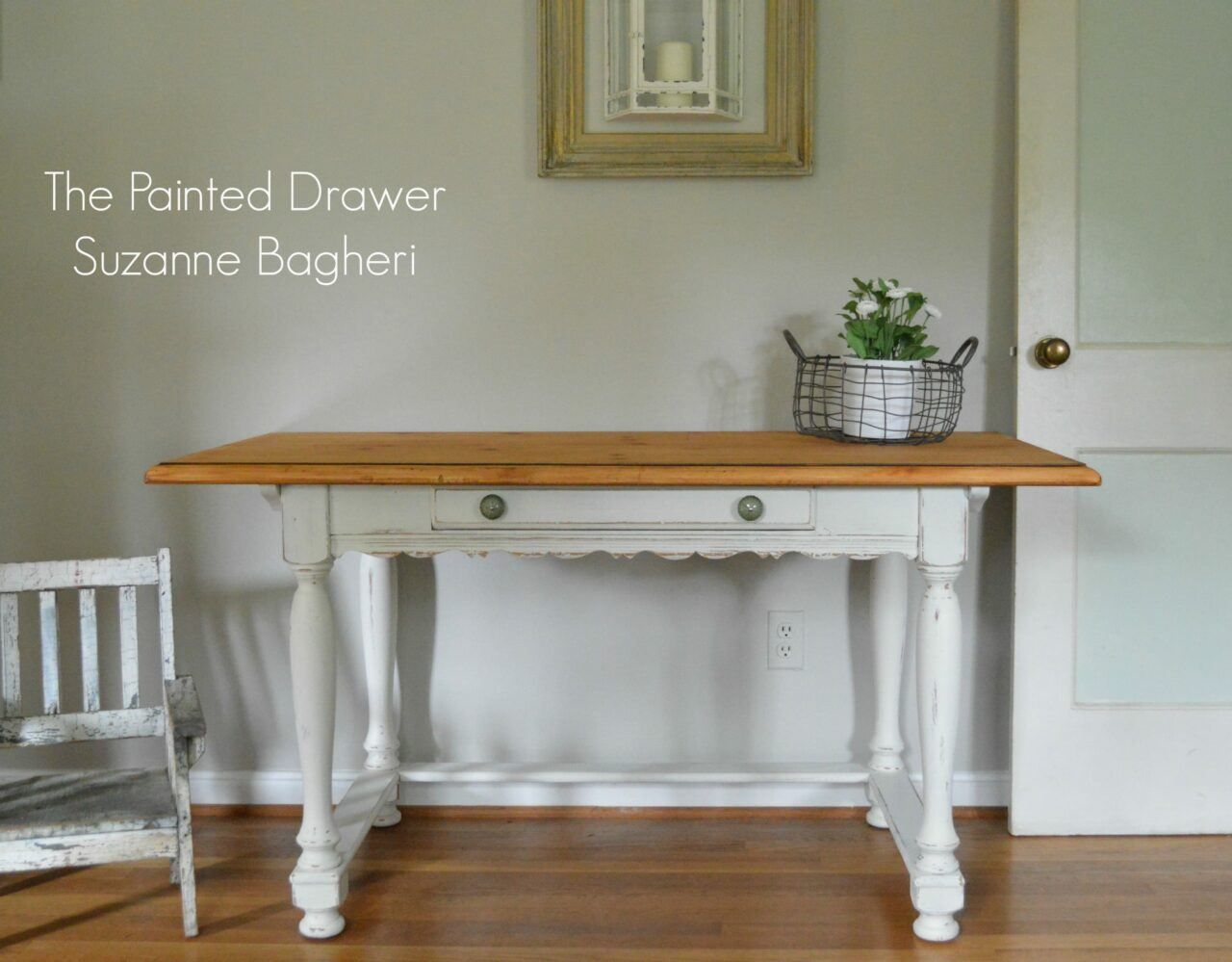 Picture of: A Farmhouse French Country Desk