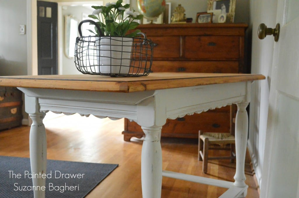 French Country Desk www.thepainteddrawer.com