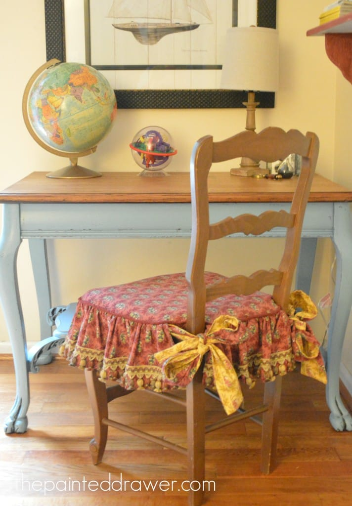 French Country Chair www.thepainteddrawer.com