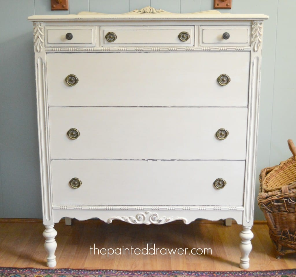 Vintage Chest thepainteddrawer.com