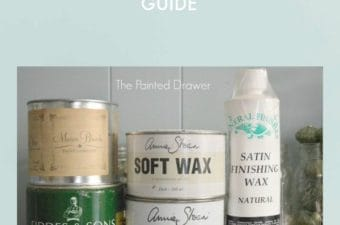 All About Waxes - My Tips and Tricks by Suzanne Bagheri thepainteddrawer