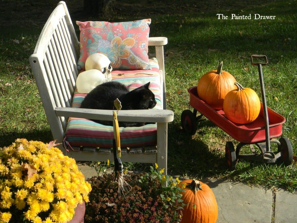 Fall Scene www.thepainteddrawer.com