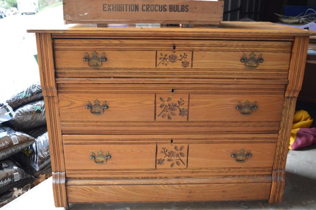 Eastlake Dresser www.thepainteddrawer.com