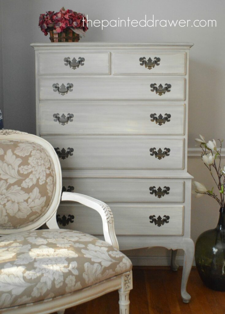 A French Dresser in Coco with a Wash & A Last Chance on the Giveaway!