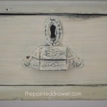 Annie Sloan Versailles Desk www.thepainteddrawer.com