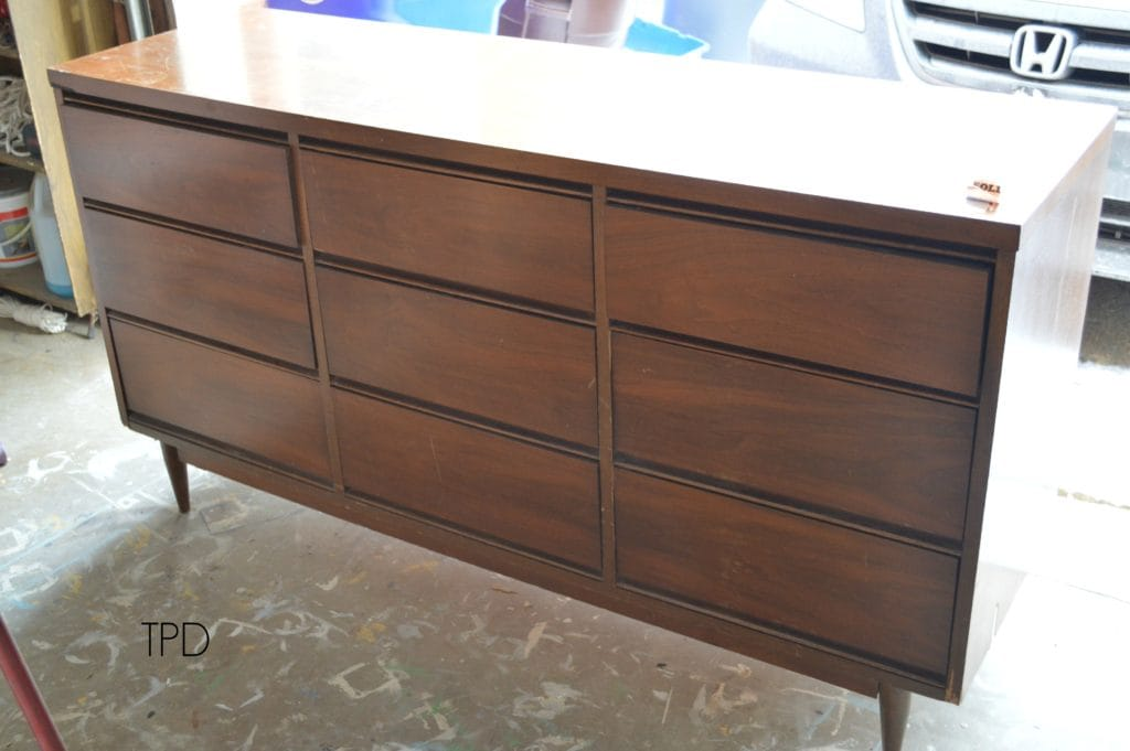 Favorite Find Monday – Matthew's Mid-Century Dresser