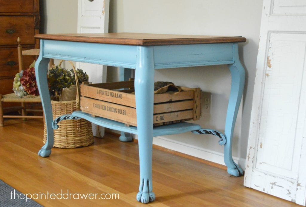 French Farmhouse in Halcyon Blue