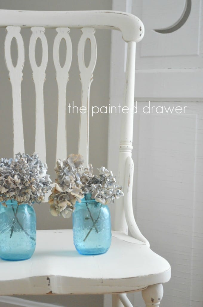 farmhouse chair www.thepainteddrawer.com