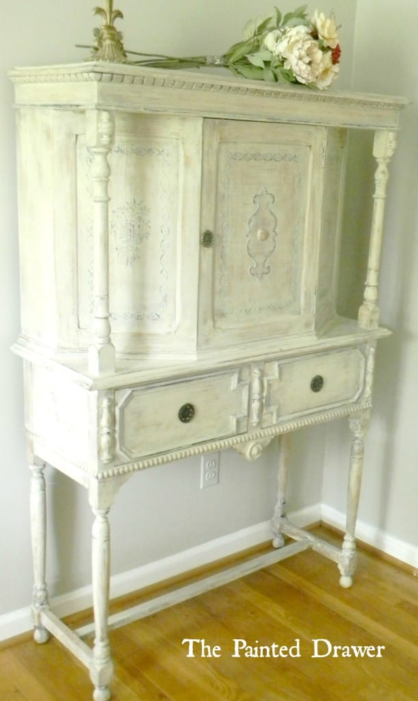 french cabinet www.thepainteddrawer.com