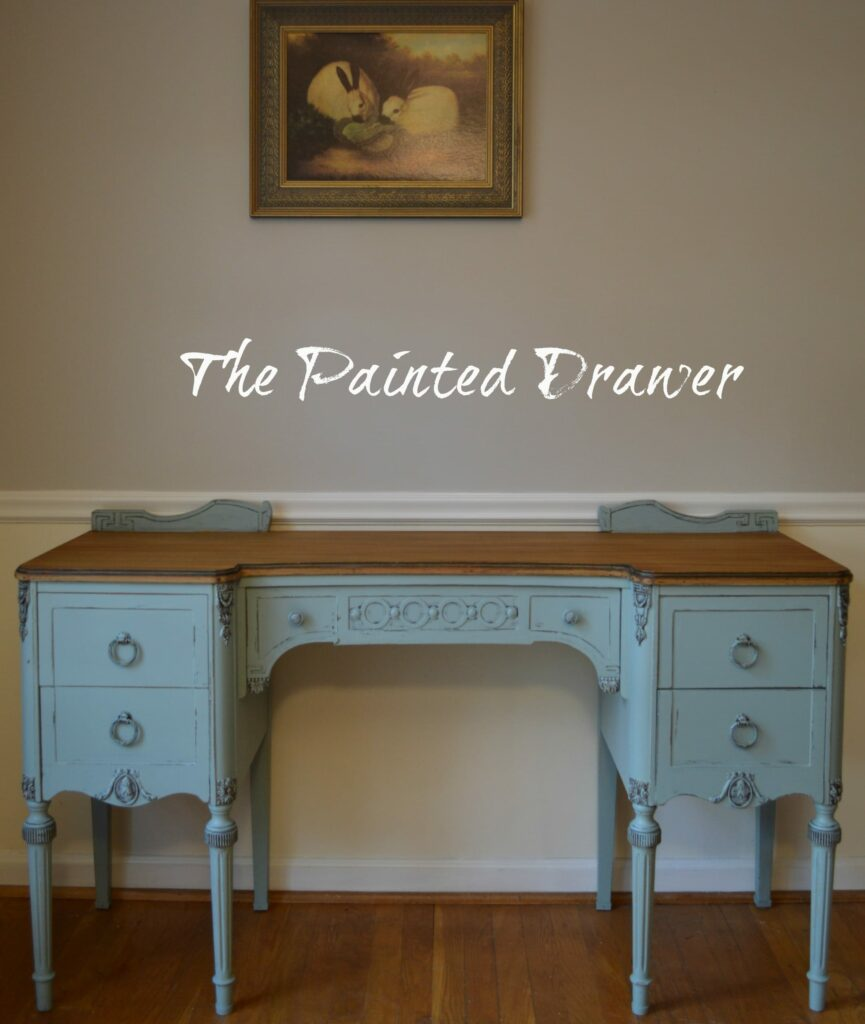 Persian Blue www.thepainteddrawer.com