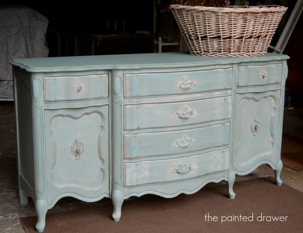 Provence with Whitewash www.thepainteddrawer.com