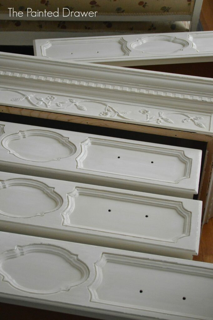 What I'm Working On…The Painted Drawer