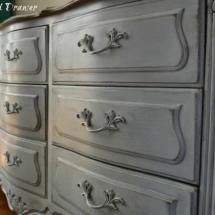 Driftwood with Winter White glaze