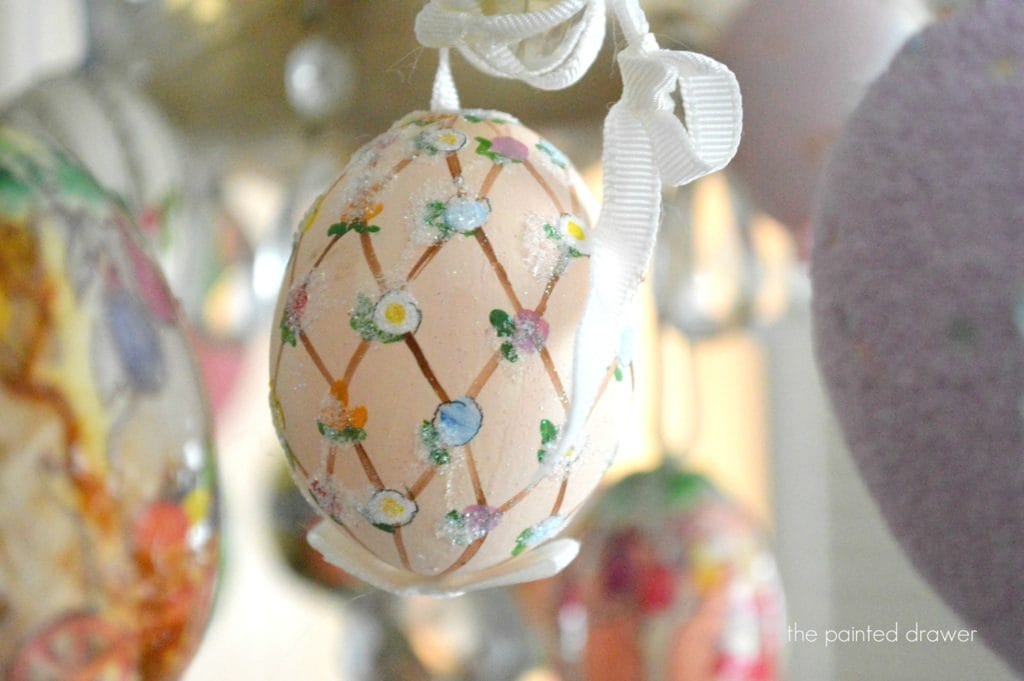 Spring Decor – Easter Egg Chandelier