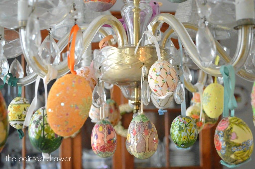 Easter Chandelier4