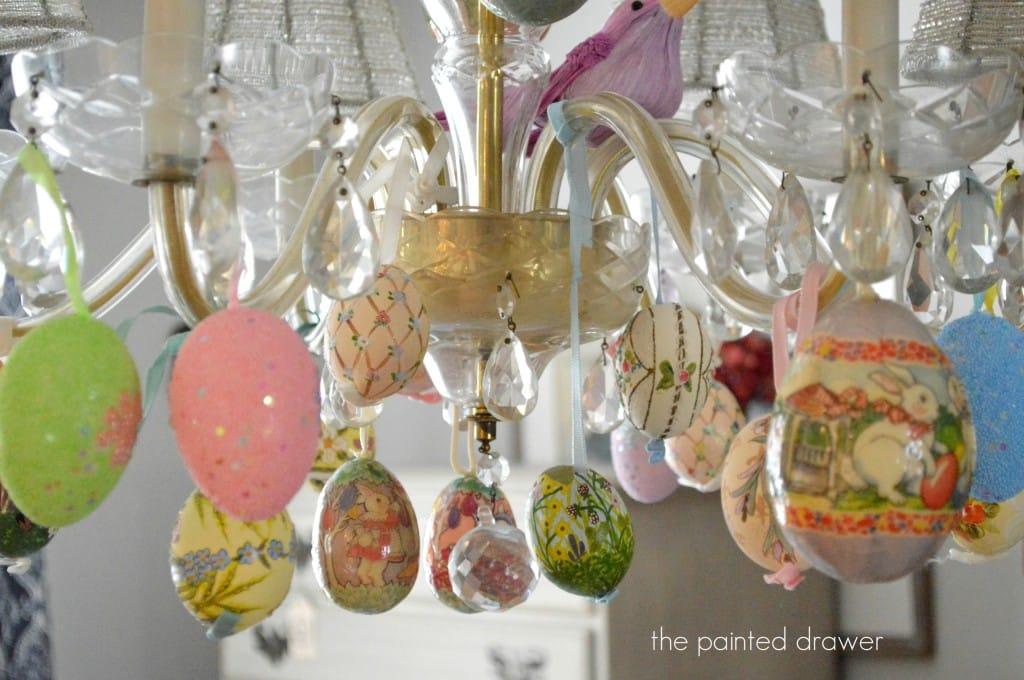 Easter Chandelier6